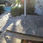 Laid Flagstone Empty Joints