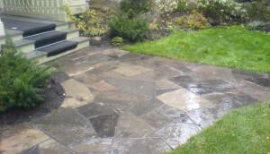 Ottawa flagstone path