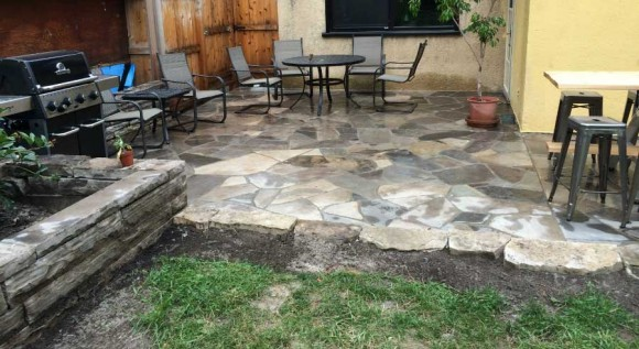 Wiarton Flagstone Patio