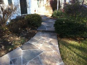 Flagstone Walkway & Steps