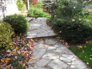 Old Flagstone Walkway