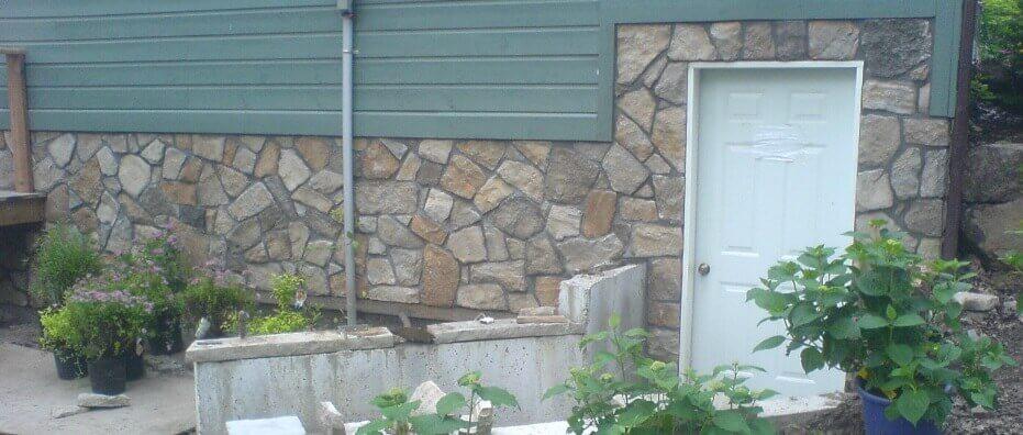 Cultured Stone Foundation