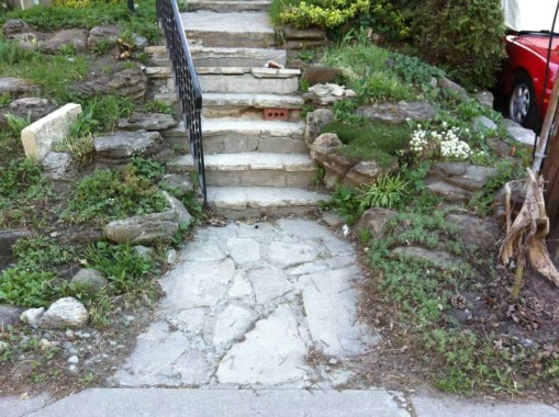 Stone Steps Before 1
