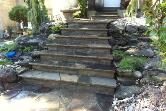 Wiarton Flagstone Steps