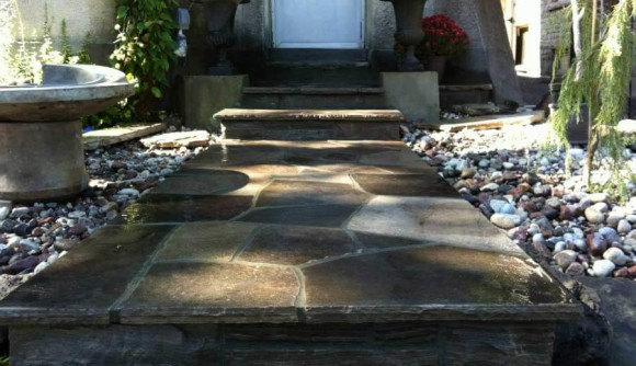Wiarton Flagstone Steps 1